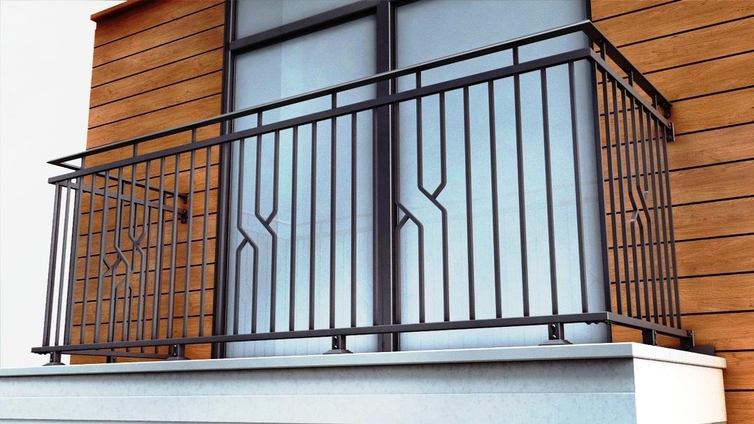 Балконное ограждения в картинках